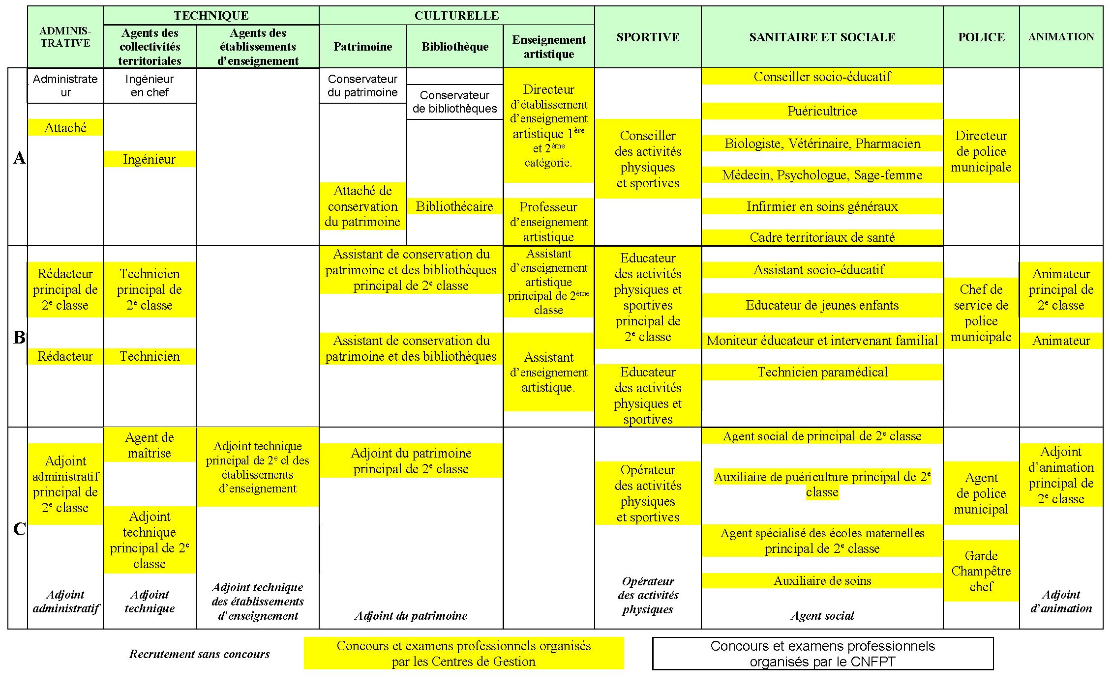 Présentation Des Filières De La Fonction Publique